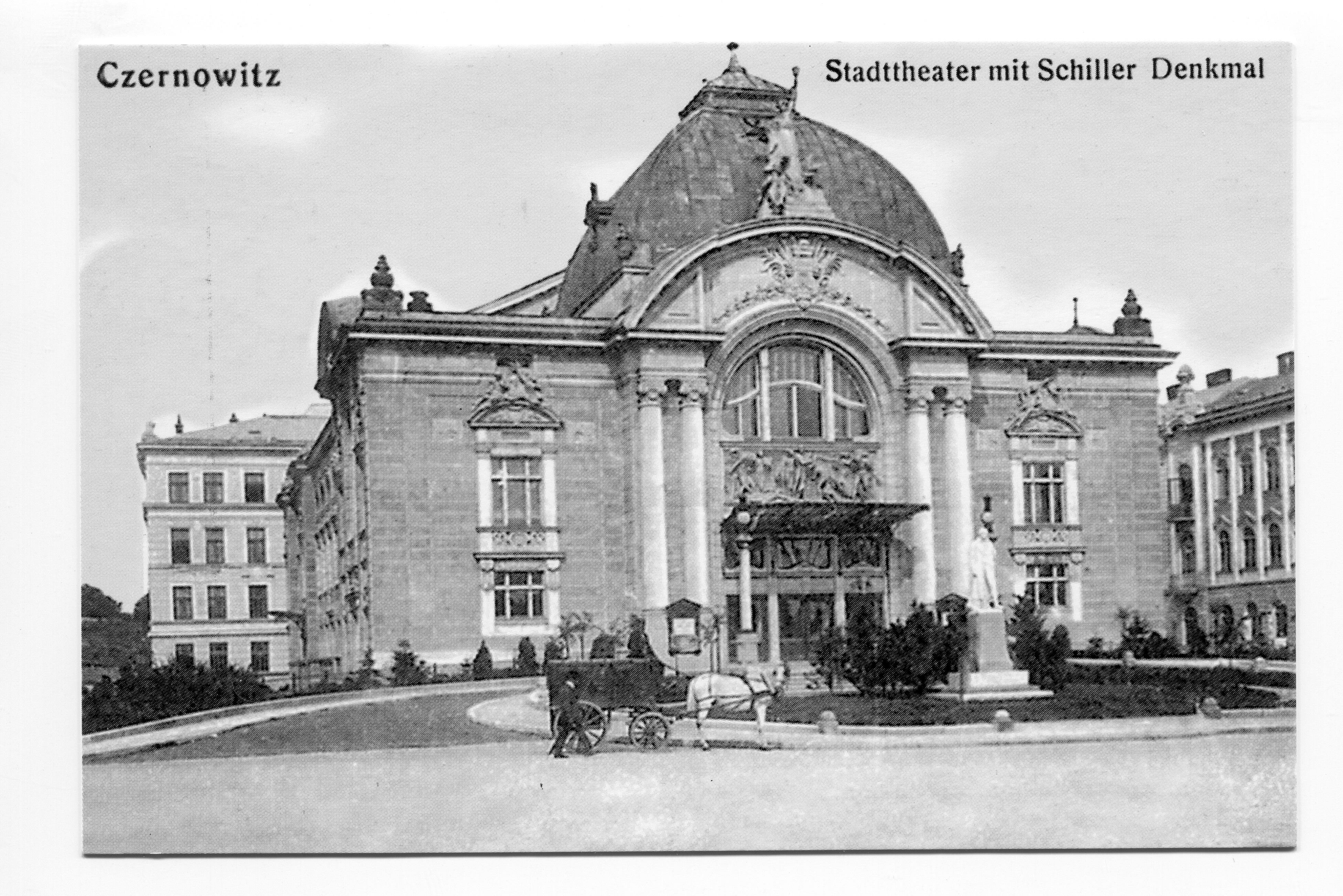 In Czernowitz | Cité der Friedenskultur